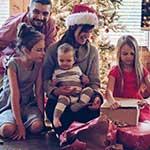 kerst met familie