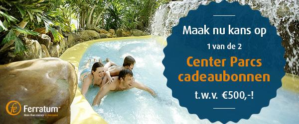 center parcs weken